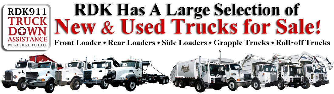 garbage trucks for sale